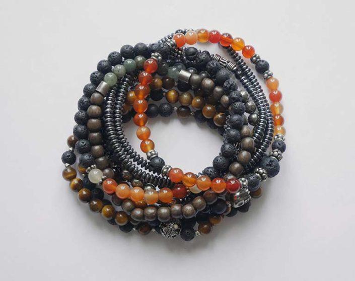 bracelet pour homme pierres naturelles