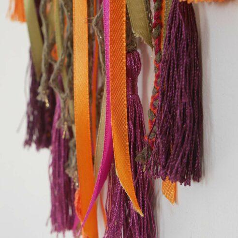attrape rêve gyspy tissus couleurs vives