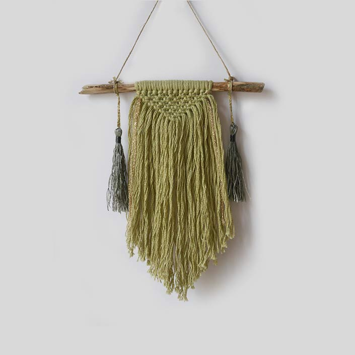 petit wall hanging pistache