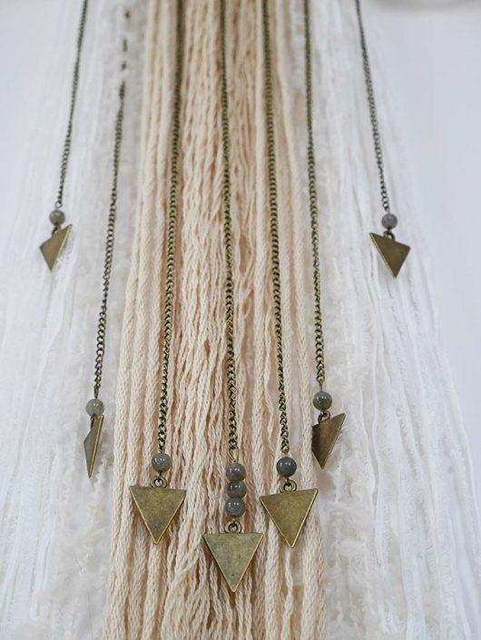 wall hanging deco avec perle